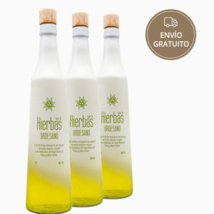 Licor de hierbas 70 cl. pack 3