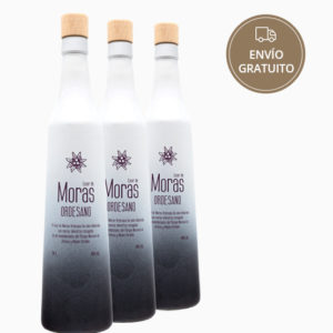 Licor de Moras 70 cl. pack 3