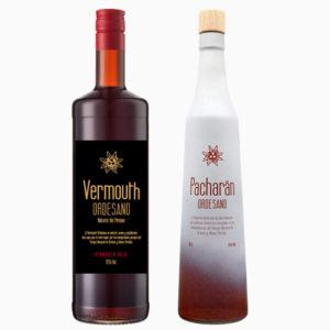 Vermouth rojo + Pacharán
