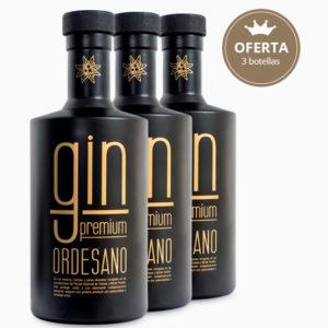 Gin Premium Ordesano pack 3