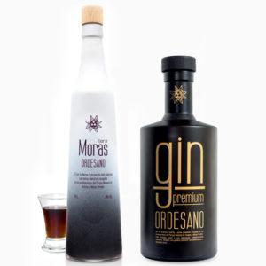 Gin Ordesano + Licor de moras