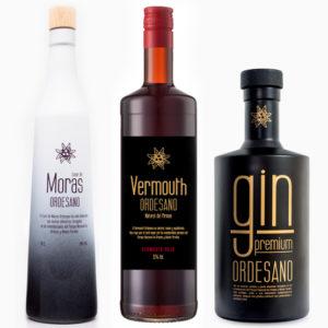 Gin + Licor de moras + Vermouth
