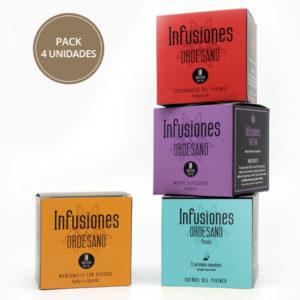 Infusiones Ordesano pack 4